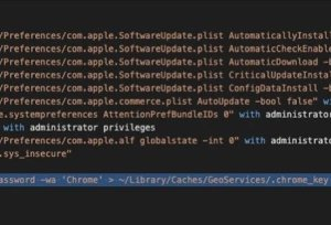 XCSSET MacOS 恶意软件以 Telegram、Google Chrome 数据等为目标
